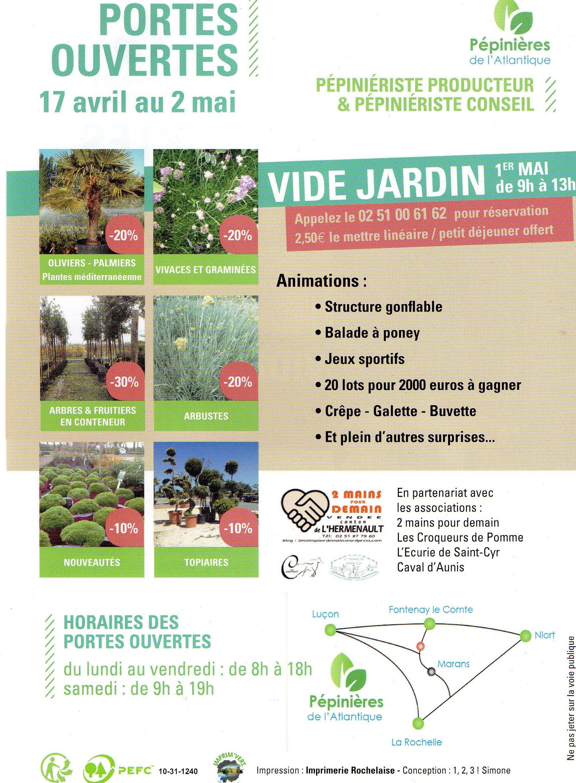 Vide jardin 1er mai velluire de 9h 18h 2 mains for Vide jardin tremeoc 2015